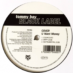 "Cover - U Want Money (12"") (VG+/NM)"